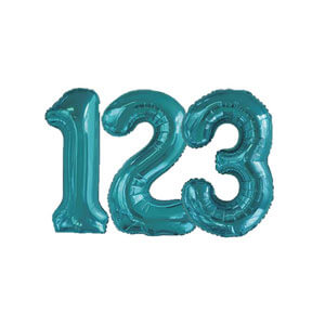 Number Balloons Foil Balloons Discount Party Warehouse