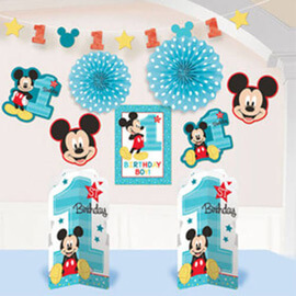 Mickey Mouse Fun To Be One 1st Birthday Party